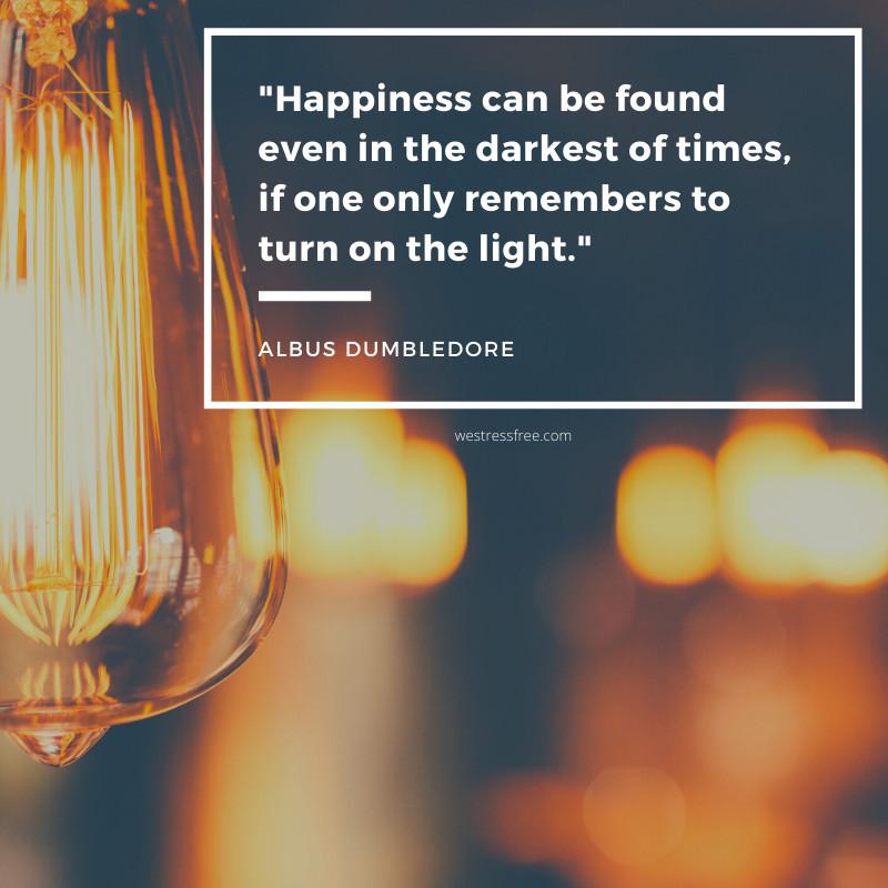 Albus Dumbledore Quote - Harry Potter