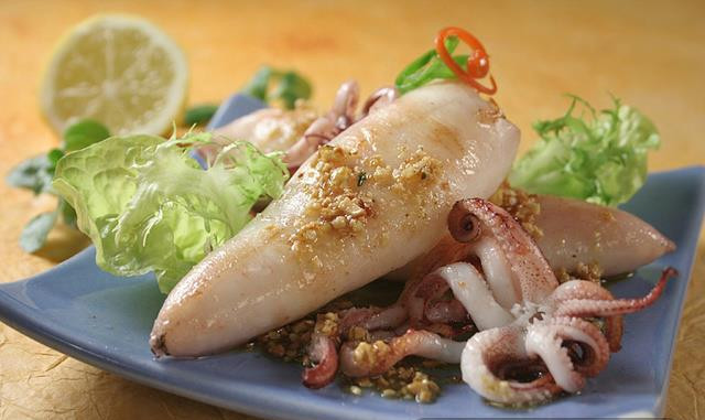 Easy Mediterranean Diet Recipes - squids