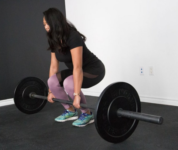 How To Build The Back Muscles - deadlifts