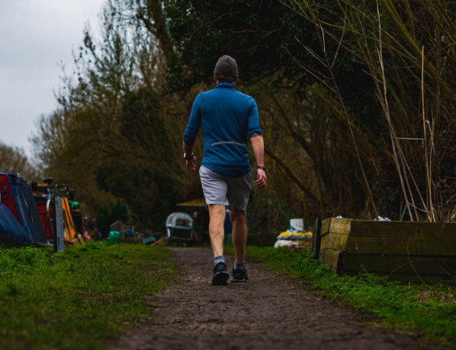 walking for health benefits - heart health