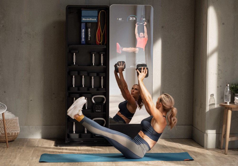 The Exercise Mirror - NordicTrack VAULT Fitness Mirror