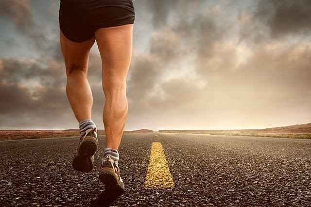 walking for health benefits - builds muscle