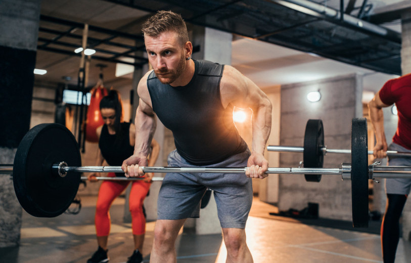 How To Build The Back Muscles - bent-over rows