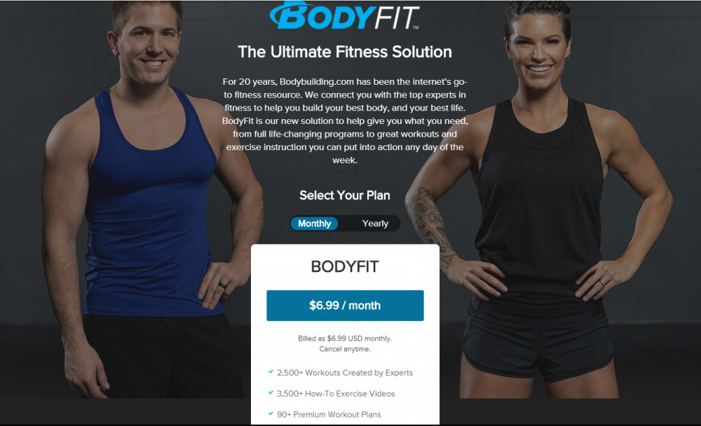 Membership - Fitness Workout Programs