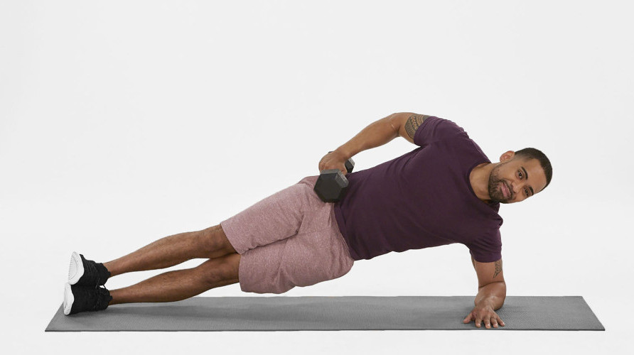 Exercises for Flat Belly - side plank