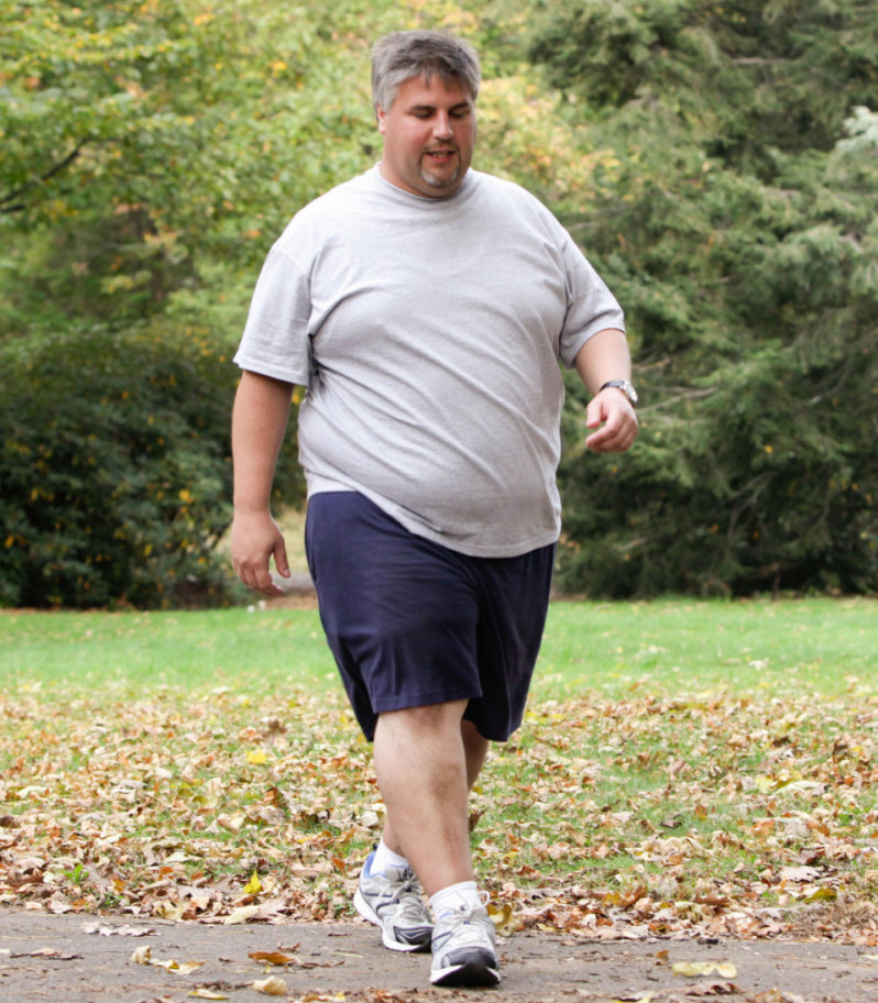 walking for health benefits - weight loss