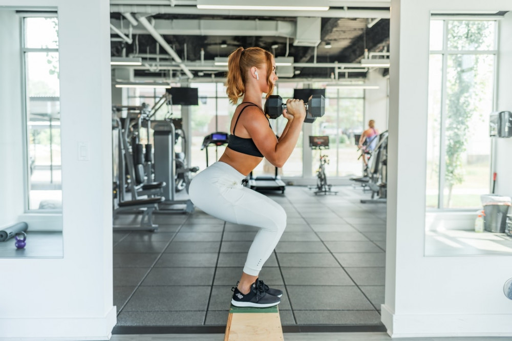 Body Transformation of Fat to Muscle - weight training