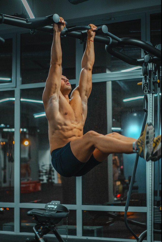 Exercises for Flat Belly - pull up bar