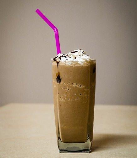 Keto Shakes and Smoothies - chocolate milkshake
