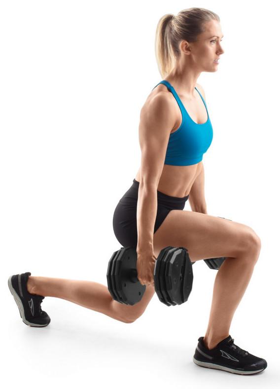 Weider Dumbbell Set - exercising