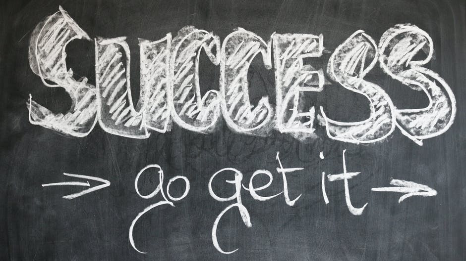 Blackboard-with-success-go-get-it-written-in-white-chalk