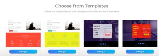 Mints review template builder