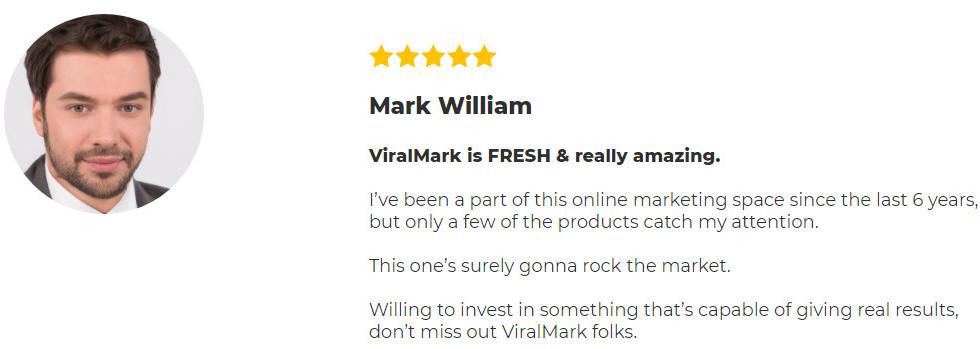 ViralMark - Review-testamonial