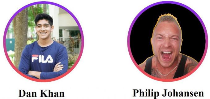 dan khan and philip johansen