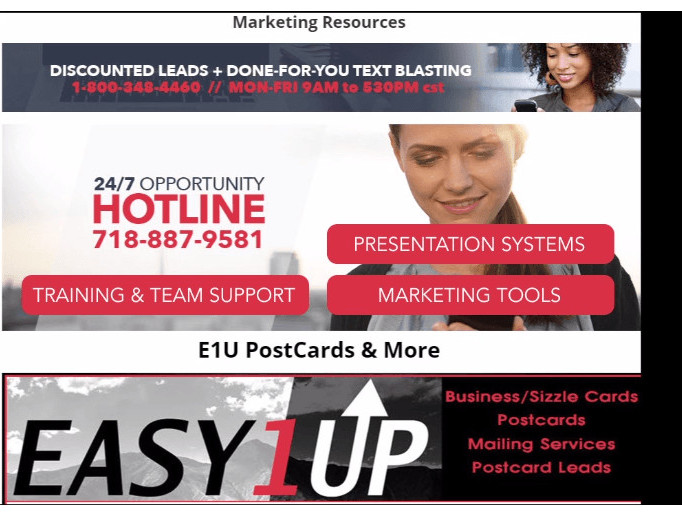 Easy1Up-review-legitimate-business-or-is-it-a-scam-Support