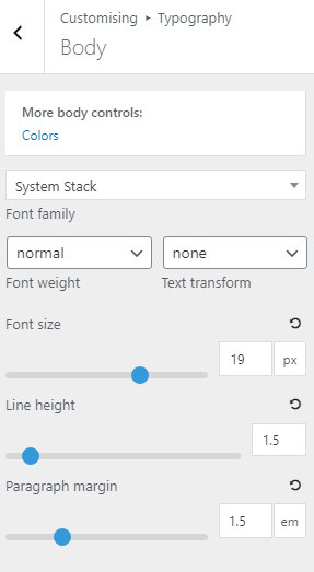 GeneratPress-changing-font-size-and-Line-height-settings