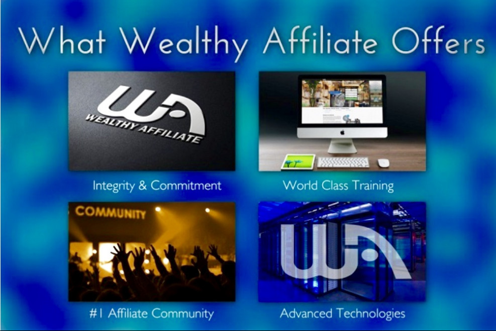 What Wealthy Affiliate Offers