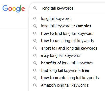 Google-auto-complete-search