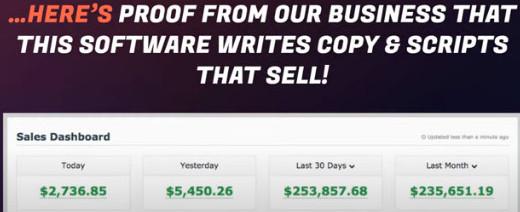 ProfitWriter income claims.