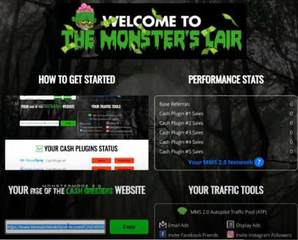 MonsterMode 2.0 Dashboard