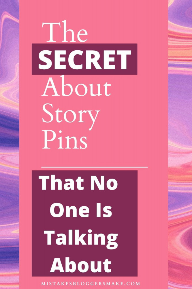 how to create a story pin for pinterest-step by step
