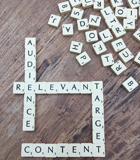 Letter-tiles-spelling-out-audience-relevant-target-content