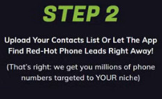 Red hot phone leads profit contact