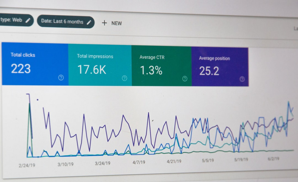 Google-Analytics-results-on-a-computer-screen-