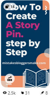 How to create a story pin step by step