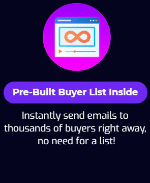 Send To Bank Sales Page Pre built buyer List