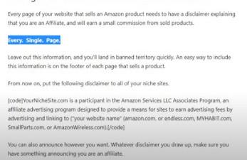 Amazon-Disclaimer
