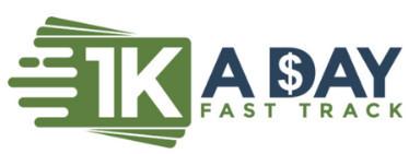 1K A Day Fast Track Logo