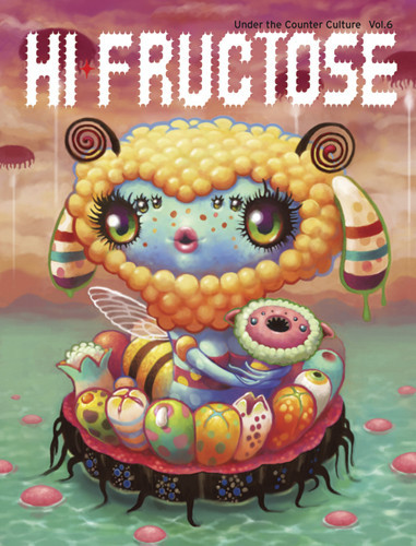 Hi Fructose - An animated character made up of various fruits