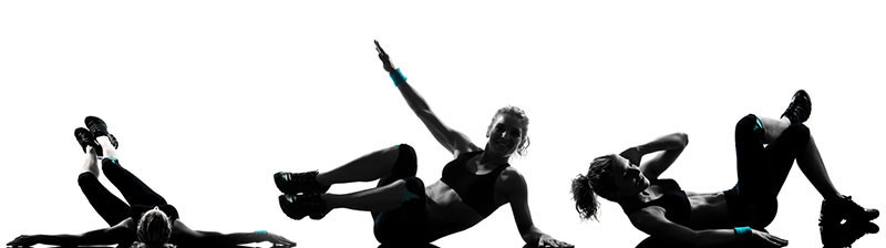 A Woman Doing Ab Exercises