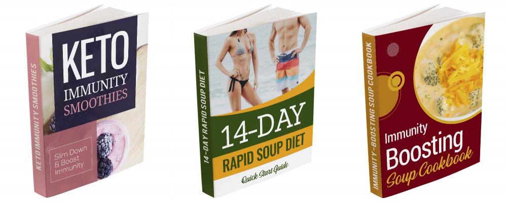 Bonus PDFs for the 14-Day Rapid Soup Diet