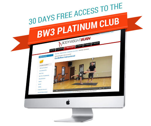 30 Days Free Access To The BW3 Platinum Club