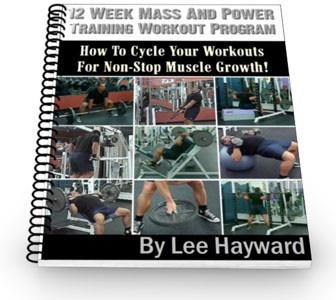 12-Week Mass and Power Training Workout Program