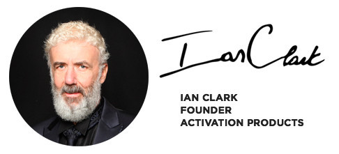 Ian Clark the Founder of Activation Products