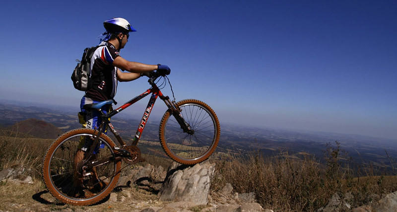 A Man and His Mountain Bike