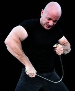 Mike Gillette Bending a Steel Bar