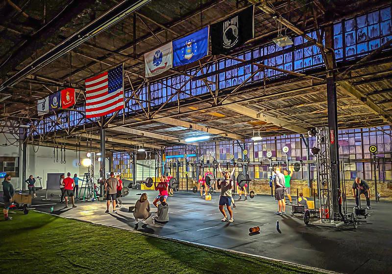 A Crossfit Training Gym