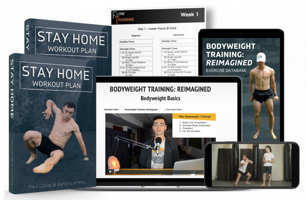 Stay Home Workout Plan - Bodyweight Training: Reimagined