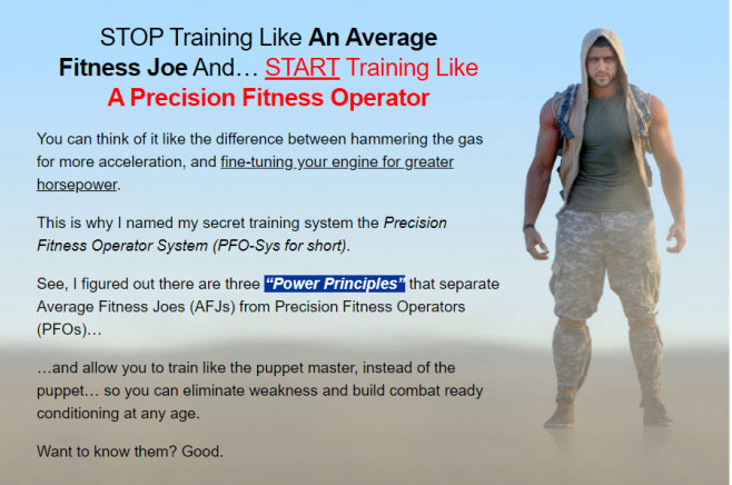 Start Training Like A Precision Fitness Operative