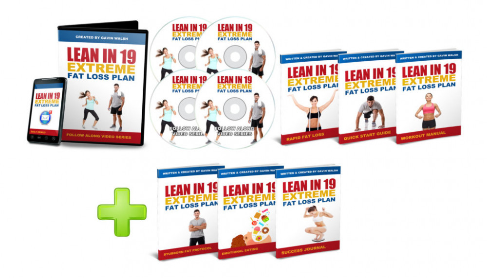 The Lean in 19 Program and Bonuses