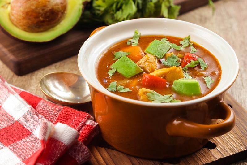 Keto Chicken Taco Soup