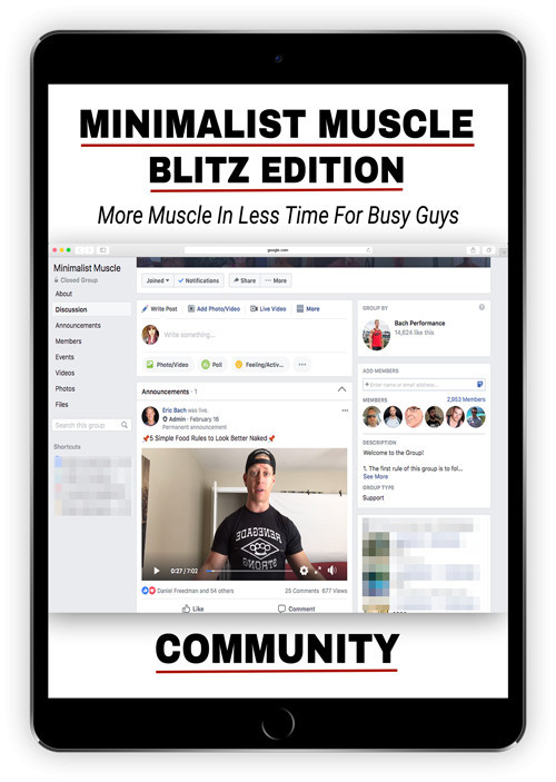 Minimalist Muscle Blitz Edition Community