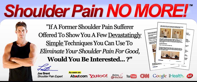 Joe Brent - Shoulder Pain No More