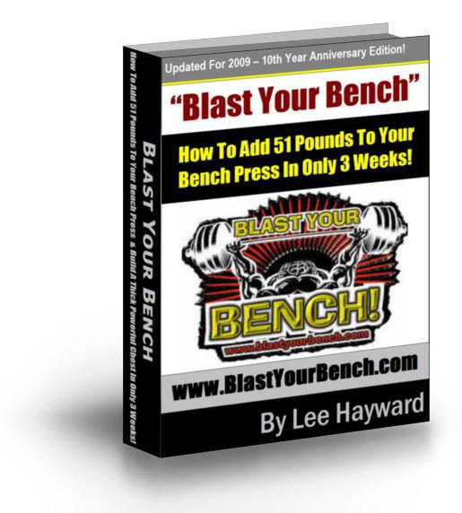 Blast Your Bench Main Manual