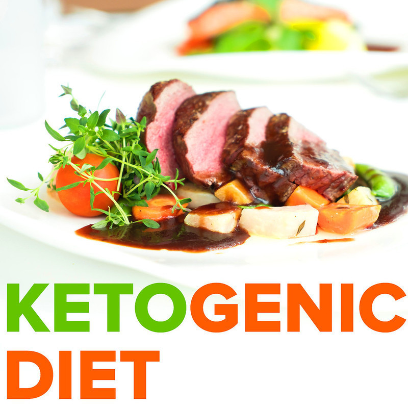 A selection of meat, vegetables and salad that is typically eaten on the ketogenic diet