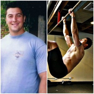 Forest Vance Before and After Using The CORE Kettlebell Challenge